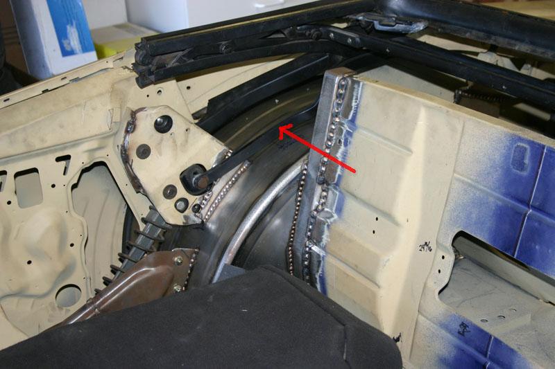 Convertible Top Frame With Mini Tubs Team Camaro Tech
