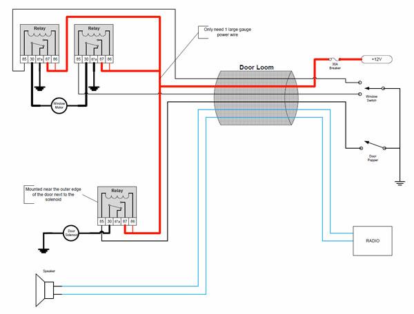 autoloc door popper wiring diagram gto power windows wiring ... on