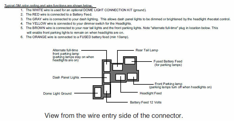 chevelle headlight wiring diagram schematics and wiring diagrams northstar chevelle club tech stuff pg 1